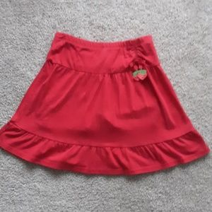 Gymboree Skirt w/ Sewn in Shorts Girl's Size 12